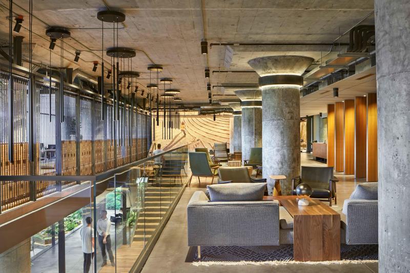 Starbucks Headquarters Lobby - Seattle WA